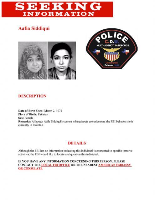 Aafia Siddiqui